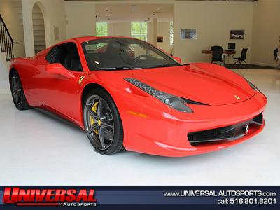 Used 2014 Ferrari 458 Spider Base