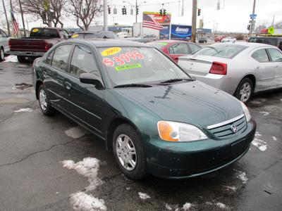 Used 2002 Honda Civic LX