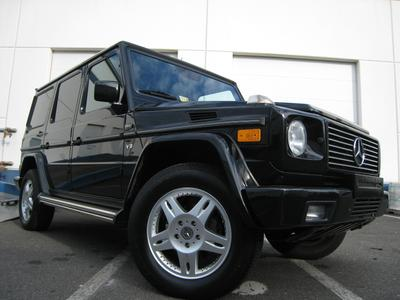 Used 2002 Mercedes-Benz G500 4MATIC