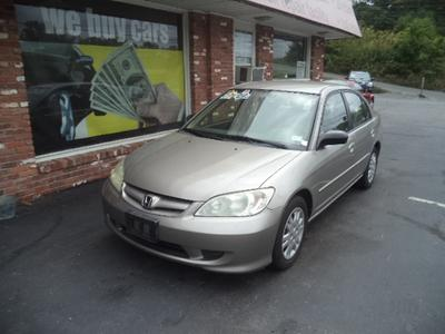 Used 2005 Honda Civic LX
