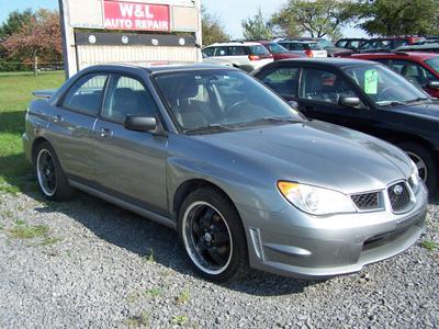 Used 2007 Subaru Impreza 2.5i