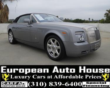 Used 2010 Rolls-Royce Phantom Drophead Coupe