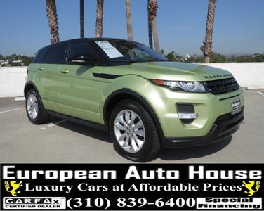 Used 2012 Land Rover Range Rover Evoque Pure Plus