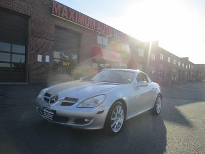 Used 2006 Mercedes-Benz SLK350 Roadster