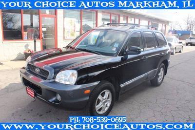 Used 2003 Hyundai Santa Fe GLS