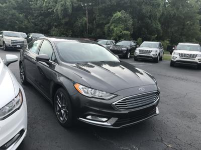 New 2017 Ford Fusion S