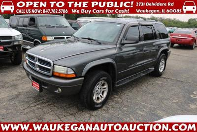 Used 2002 Dodge Durango SLT Plus