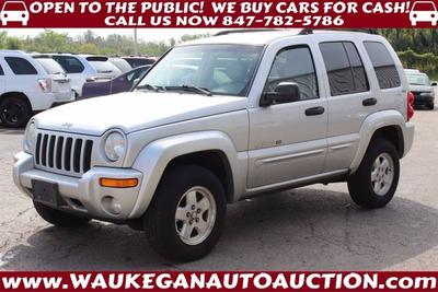 Used 2002 Jeep Liberty Limited