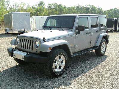 Used 2015 Jeep Wrangler Unlimited Sahara