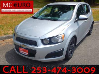 Used 2012 Chevrolet Sonic 1LT