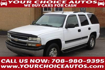 Used 2005 Chevrolet Tahoe Commercial Fleet