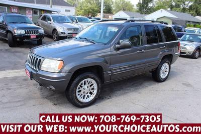 Used 2002 Jeep Grand Cherokee Limited