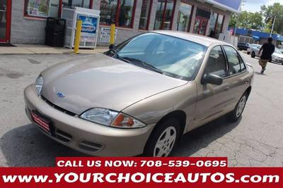 Used 2002 Chevrolet Cavalier LS