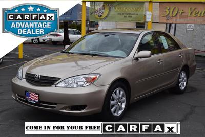 Used 2003 Toyota Camry XLE