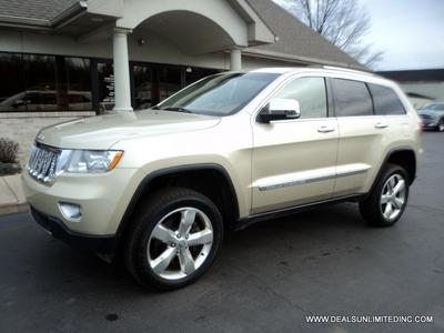 Used 2012 Jeep Grand Cherokee Overland