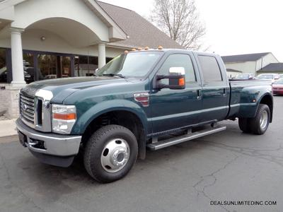 Used 2010 Ford F-350 Lariat Super Duty Crew Cab DRW