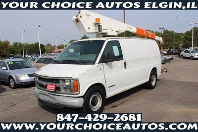 Used 2001 Chevrolet Express 3500 Cargo
