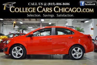 Used 2016 Chevrolet Sonic LTZ