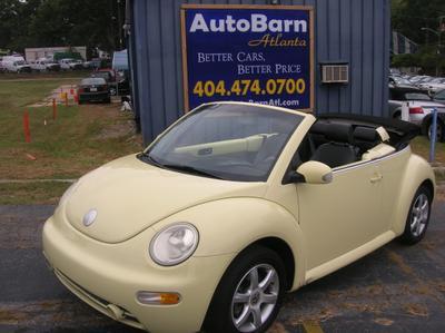 Used 2004 Volkswagen New Beetle GLS 1.8T