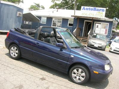 Used 2001 Volkswagen Cabrio GLX