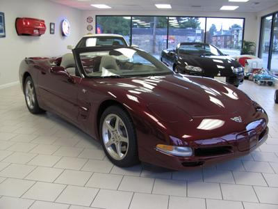 Used 2003 Chevrolet Corvette 50th Anniversary Edition