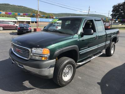 Used 2002 GMC Sierra 2500 H/D Extended Cab