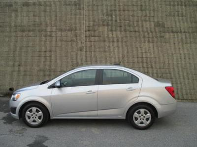 New 2015 Chevrolet Sonic LS
