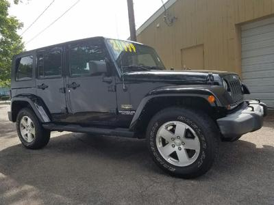 Used 2008 Jeep Wrangler Unlimited Sahara