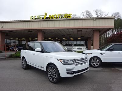 Used 2016 Land Rover Range Rover 5.0L Supercharged