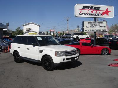 Used 2009 Land Rover Range Rover Sport Supercharged