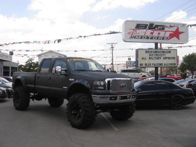Used 2007 Ford F-350 Lariat Crew Cab Super Duty