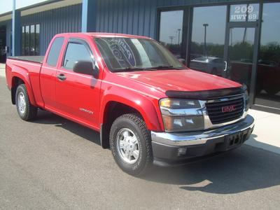 Used 2005 GMC Canyon SLE