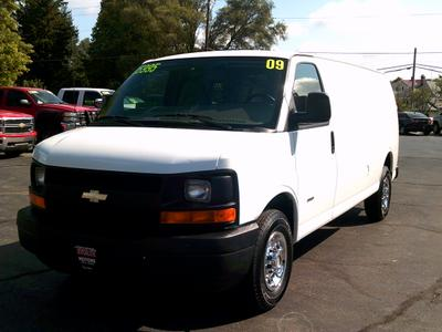 Used 2009 Chevrolet Express 3500 Cargo