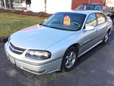 Used 2002 Chevrolet Impala LS