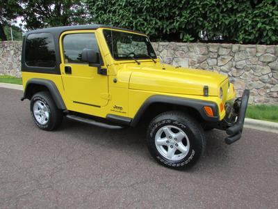 Used 2004 Jeep Wrangler X