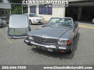 1989 Mercedes-Benz 500SL Roadster