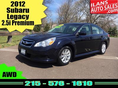 Used 2012 Subaru Legacy 2.5i Premium