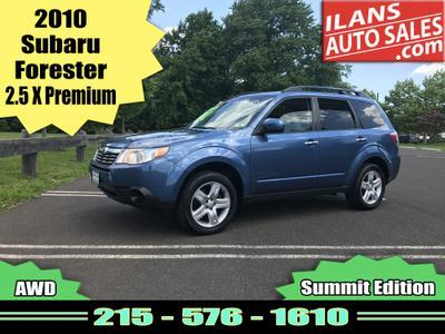Used 2010 Subaru Forester 2.5 X Premium