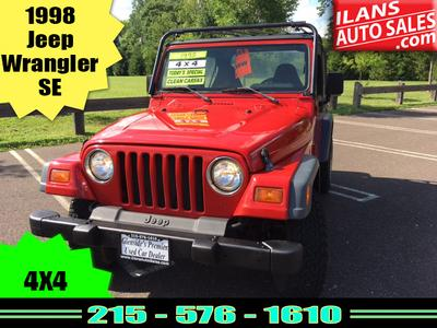 Used 1998 Jeep Wrangler SE