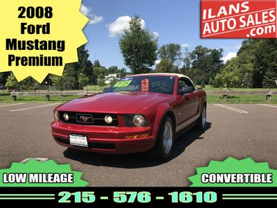 Used 2008 Ford Mustang Premium