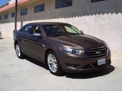 Certified 2016 Ford Taurus Limited