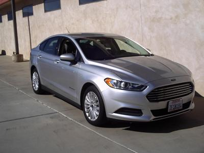 Used 2014 Ford Fusion Hybrid S