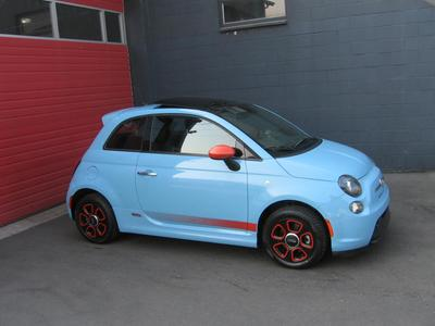Used 2015 FIAT 500e Battery Electric