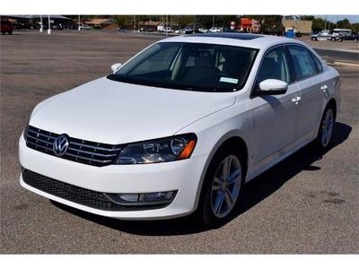 New 2015 Volkswagen Passat 2.0L TDI SEL Premium