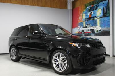 Used 2016 Land Rover Range Rover Sport Supercharged SVR