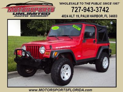 Used 2004 Jeep Wrangler Rubicon