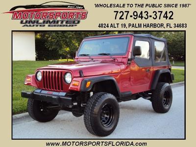 Used 1999 Jeep Wrangler Sport
