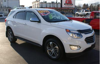 Used 2016 Chevrolet Equinox LTZ