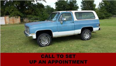 Used 1984 Chevrolet Blazer