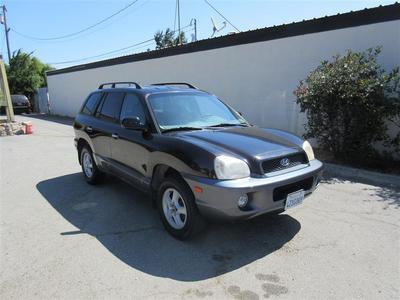 Used 2002 Hyundai Santa Fe